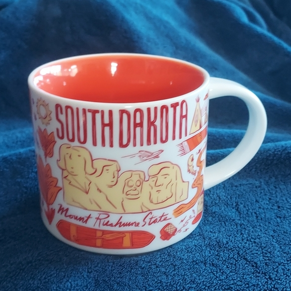Starbucks South Dakota Been There mug